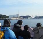 軍港めぐり~米軍と日本の自衛隊、両方のイージス艦が見られました。
